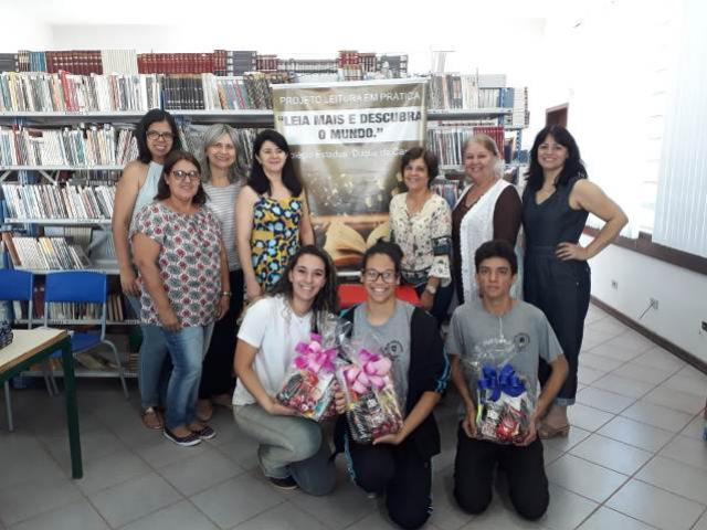 Premiação do projeto de leitura do Colégio Duque de Caxias foi realizada nesta segunda, 10