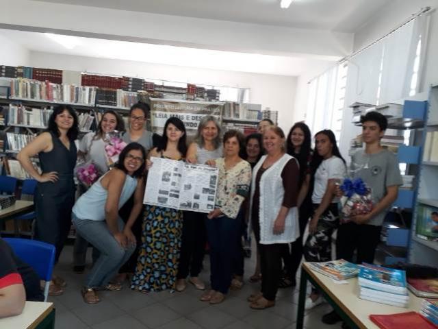 Foi lançado nesta segunda, 10, no Colégio Duque de Caxias a 2º edição do jornal A Voz do Duque