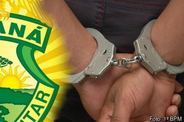Polícia Militar da 3ª CIPM, prende homem após violência doméstica no município de Santa Monica
