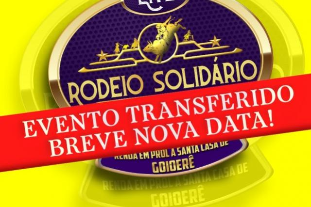 Rodeio Live Solidária e Show com Cezar e Paulinho em Goioerê foi adiado. Confira!