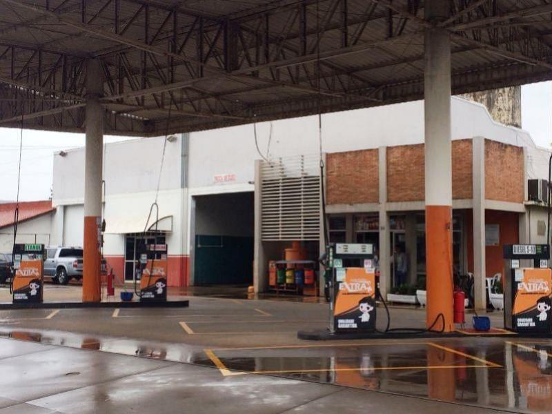 Posto de Combustível foi alvo de arrombamento nesta madrugada em Goioerê