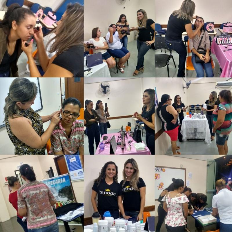 Workshop para mulheres do Unicesumar e Colégio Novo Mundo foi sucesso