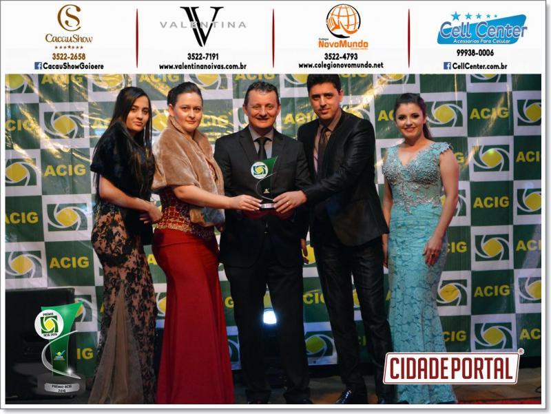 Valentina Noivas mais uma vez recebe o reconhecimento do público no prêmio ACIG 2016