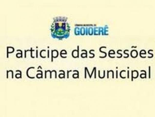 Indicações e requerimentos aprovados pela Câmara de Goioerê nesta segunda-feira, 15