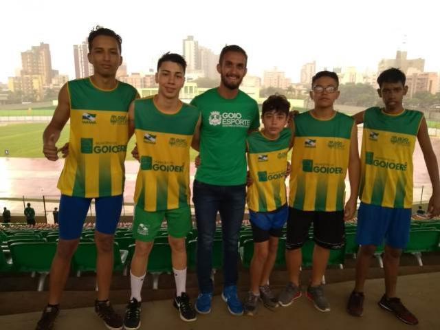 Equipe de Atletismo de Goioerê participou do Campeonato Paranaense Caixa de Atletismo Sub-16