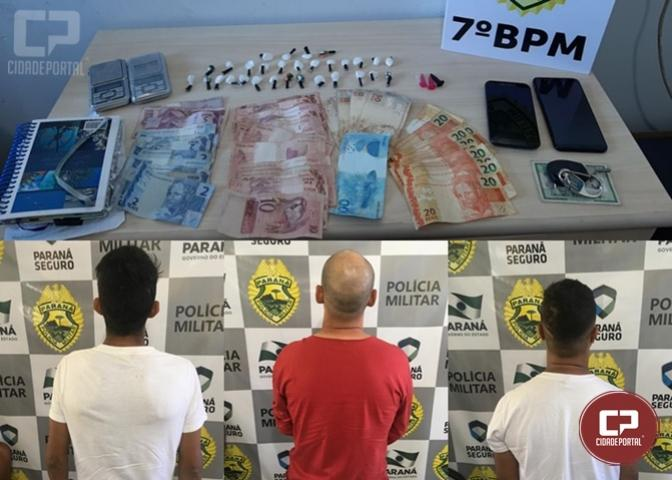 MP e Polícias Civil e Militar promovem Operação Galileia para combater o tráfico de drogas em Goioerê e região