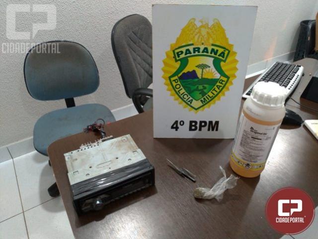 Autores de furto de veículo foram presos pela Polícia Militar em Maringá