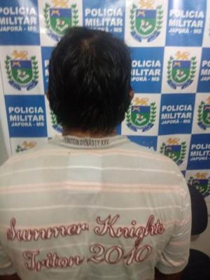 Polícia Militar de Japorã/MS detêm índio com arma ilegal