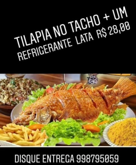 Promoção no Pub Caponni! Caneca de chopp por R$3,00 e combo de Tilápia no tacho R$28,00!
