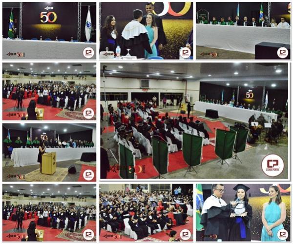 Fotos da Colação de Grau dos Formandos do Câmpus Regional e polo da UAB de Goioerê