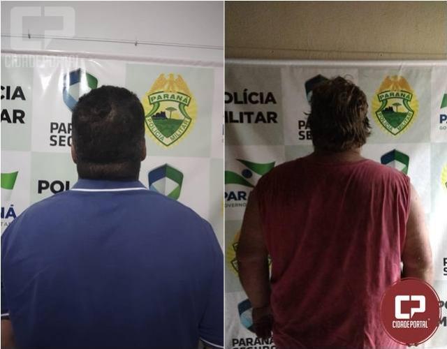 Equipe da polícia militar cumpre mandados de prisão em Terra Boa e Cianorte