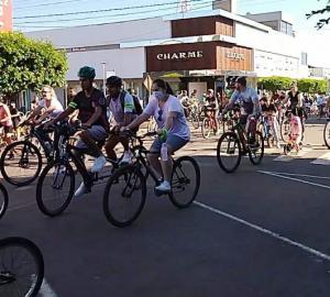"""Passeio ciclístico """"Eu amo Goioerê"""" foi um sucesso"""