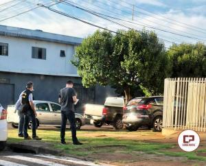 Operação da Polícia Federal realiza busca e apreensão em comitê de candidato a vereador em Goioerê