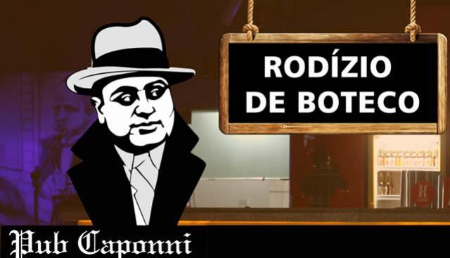 Rodízio de Boteco no Pub Caponni hoje, Adulto 25 e criança 12 reais