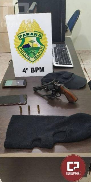 Polícia Militar prende dois indivíduos com arma de fogo em Maringá