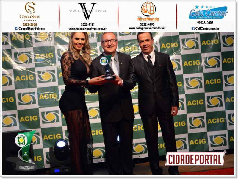 Agilson Flausino consolidado como melhor contador recebe prêmio Acig pela décima quarta vez