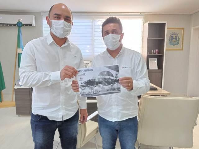 Vereador Marcio Lacerda apresenta emenda de mais de R$ 660 mil da Deputada Maria Victória para Goioerê