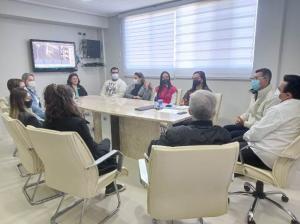 Nova secretária de Compras da Prefeitura de Goioerê se reuniu com equipe