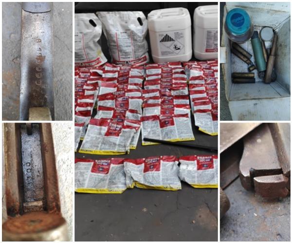Duas pessoas são presas por posse ilegal de arma e defensivos agrícolas irregulares em Mamborê