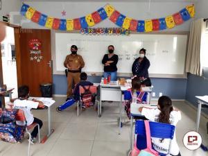 Aulas do PROERD retornarão em Goioerê e Região