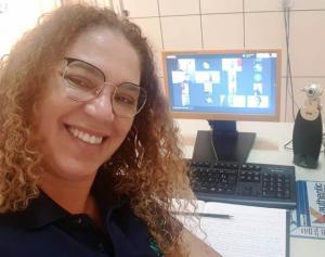 NRE de Goioerê realiza videoconferência com alunos representantes dos grêmios estudantis e alunos líderes de sala