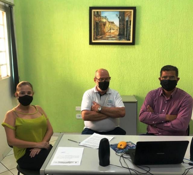 Chefe do NRE acompanha a audiência pública promovida pelo Ministério Público Comarca de Goioerê