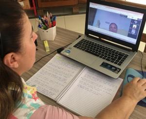 SAA de Goioerê realiza encontro virtual com as tutoras e estagiárias da UNINTER e UNICENTRO