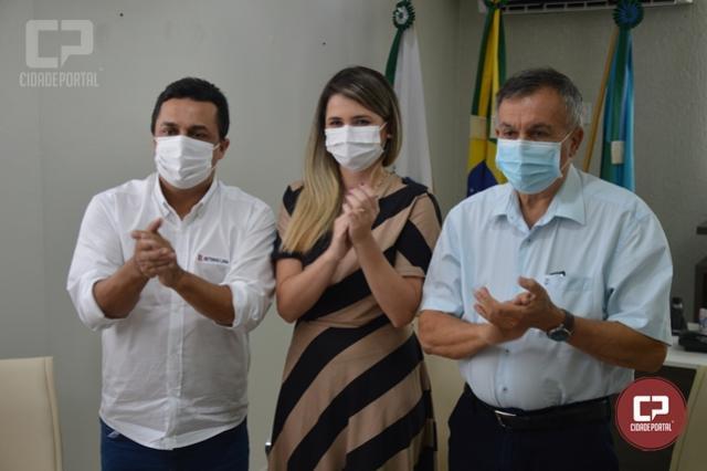 Betinho Lima anuncia Gabriela Martins como a nova Secretária de Saúde de Goioerê
