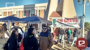 IFPR de Goioerê participa da greve geral contra os cortes das verbas de custeio do Governo Federal
