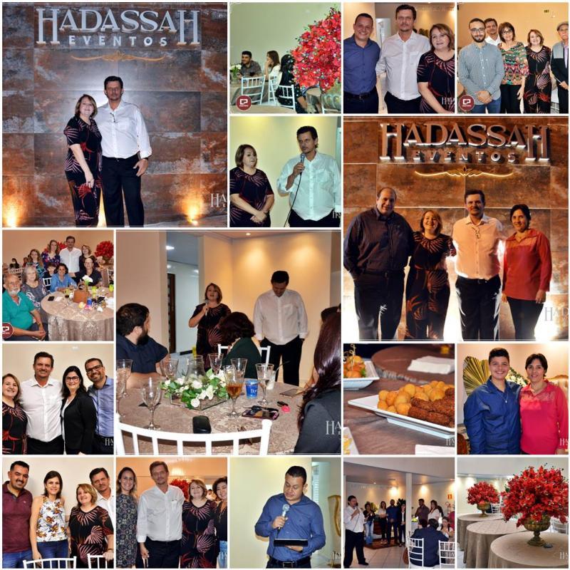 Espaço HadassaH Eventos foi inaugurado nesta sexta-feira, 14