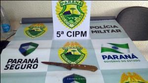 Autor de duplo homicídio é preso pela Polícia Militar na manhã deste sábado em Cianorte