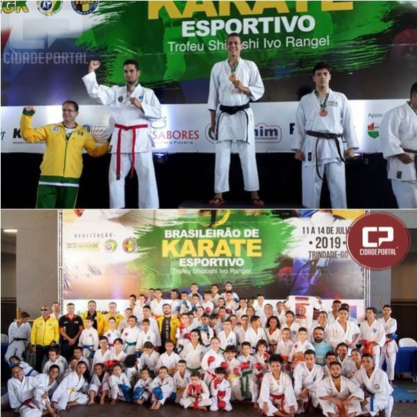 Atletas do Karate Goioerê Águas Claras conquistam medalhas em Goiás