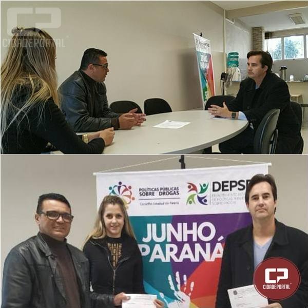 Vereador Paraíba busca apoio para fortalecer o projeto Conselho de Combate às Drogas - COMAD