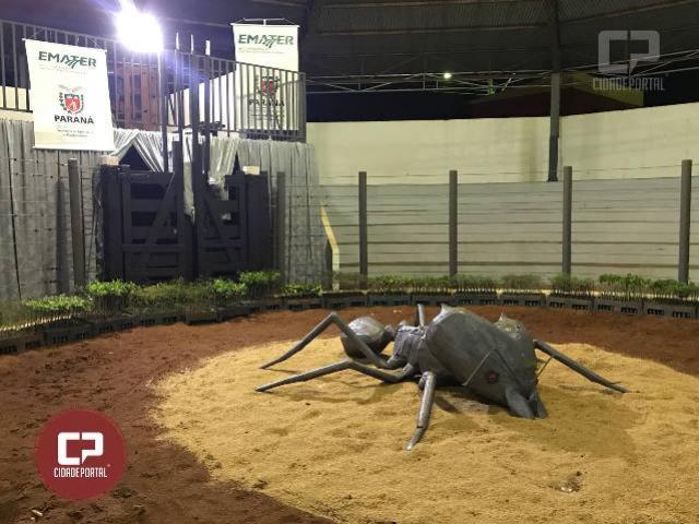 Emater orienta sobre Formigas cortadeiras durante Expogoio 2018