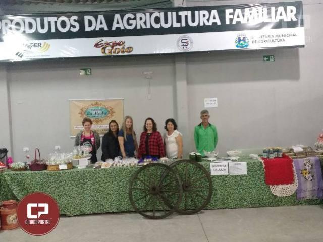 Feira da Agroindústria Familiar Presente na EXPOGOIO 2018