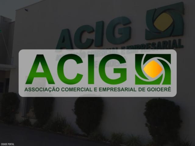 ACIG atende solicitações de empresários e realizará reunião nesta segunda-feira, 18