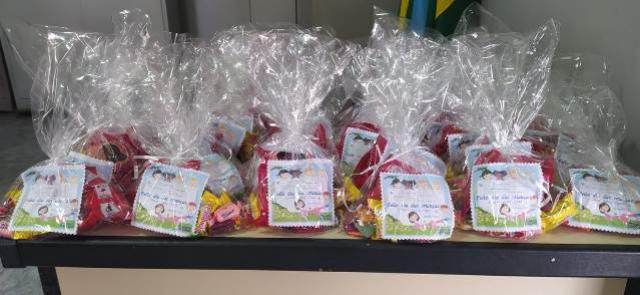Centro Educacional Santa Clara de Goioerê agradece doações na Semana do Dia das Crianças