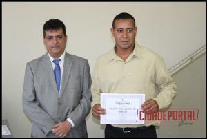 A diplomação dos candidatos eleitos em Rancho Alegre do Oeste, aconteceu na manhã desta quinta-feira, 15 - VALDIR POLICARPO DE ARAUJO