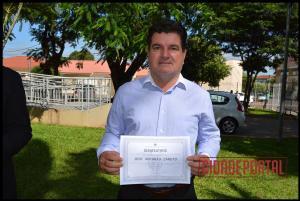 A diplomação dos candidatos eleitos em Rancho Alegre do Oeste, aconteceu na manhã desta quinta-feira, 15 - JOSÉ ANTONIO ZANUTO