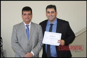 A diplomação dos vereadores eleitos em Moreira Sales, aconteceu na manhã desta quinta-feira, 15 - JOÃO LUIZ POSSO MORENO