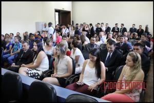 A diplomação dos vereadores eleitos em Quarto Centenário, aconteceu na manhã desta quinta-feira, 15