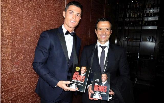 Real dá aval a Jorge Mendes para negociar Cristiano Ronaldo, diz jornal português