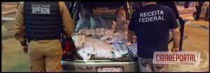 Batalhão de Fronteira em apoio a Receita Federal deflagram operação contra contrabando em Foz do Iguaçu