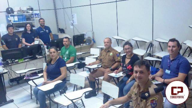 Sargento de Souza representou a 3ªCIA do BPRv em reunião do Programa Vida no Trânsito em Toledo