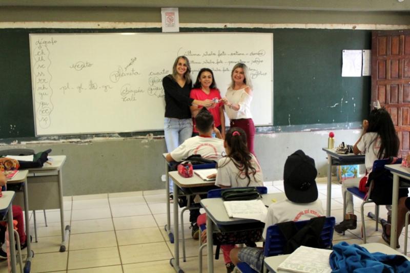 Projeto de Educação Financeira inicia na Escola Municipal José Jesus Cavalcante