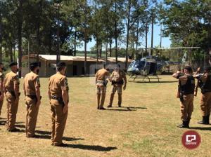 7º BPM recebe o Comandante Geral da Polícia Militar do Paraná em Cruzeiro do Oeste