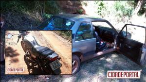 Policiais Militares da 2ªCIA/7ºBPM de Goioerê recuperam moto e carro roubados