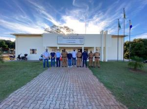 7º BPM em Cruzeiro do Oeste recebe visita do Prefeito de Cidade Gaúcha