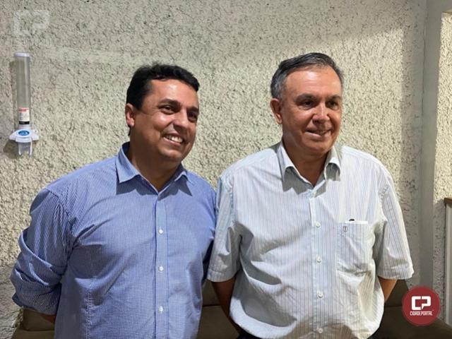 Betinho Lima anuncia o Dr. Adilson Corpa como seu vice nas eleições para prefeito
