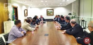 Comissão da UEM participa de reunião em Curitiba com Superintendente de Ciência, Tecnologia e Educação Superior